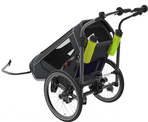 Jogalong Biking Stroller - Back