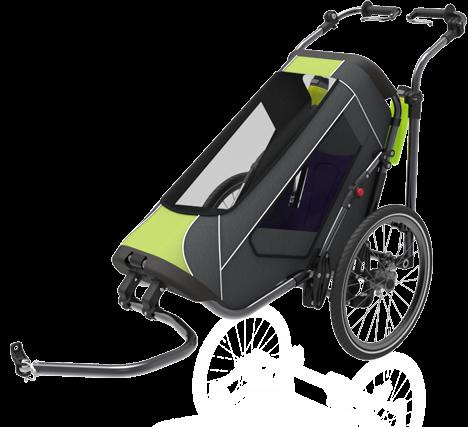 Jogalong Biking Stroller - Front