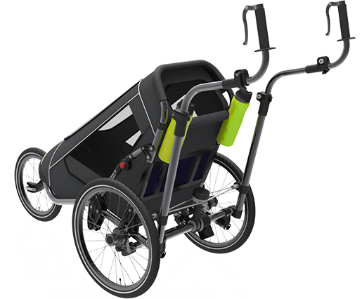 Jogalong Running Stroller - Back