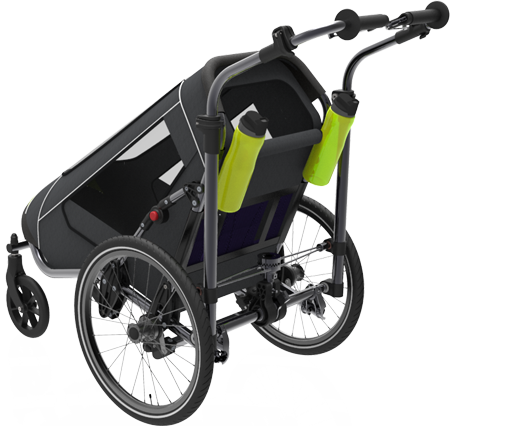 Jogalong Walking Stroller - Back