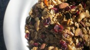 Nuts, Cranberries, and Maple Syrup: Quick and Easy Granola
