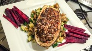 Stuffed Eggplant: Light and Delicious